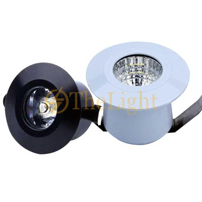 Đèn âm tủ LED spotlight mini 3w lỗ khoét 35mm trang trí TL-SPL01