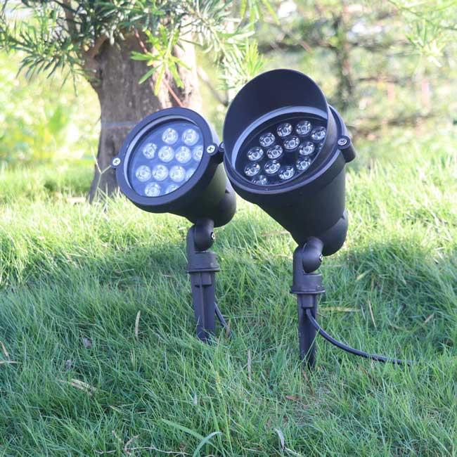 Đèn cắm cỏ LED 12w IP65 trang trí sân vườn ngoài trời TL-CC02