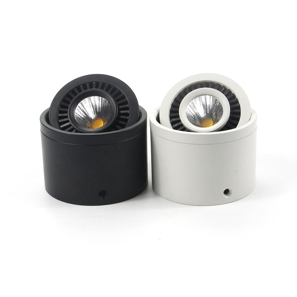 Đèn ống bơ LEB COB xoay góc 360 độ spotlight cao cấp