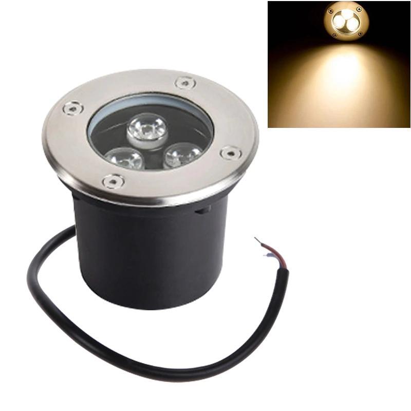 Đèn LED Âm Đất Tròn 3W IP65 ngoài trời TL-ERS03