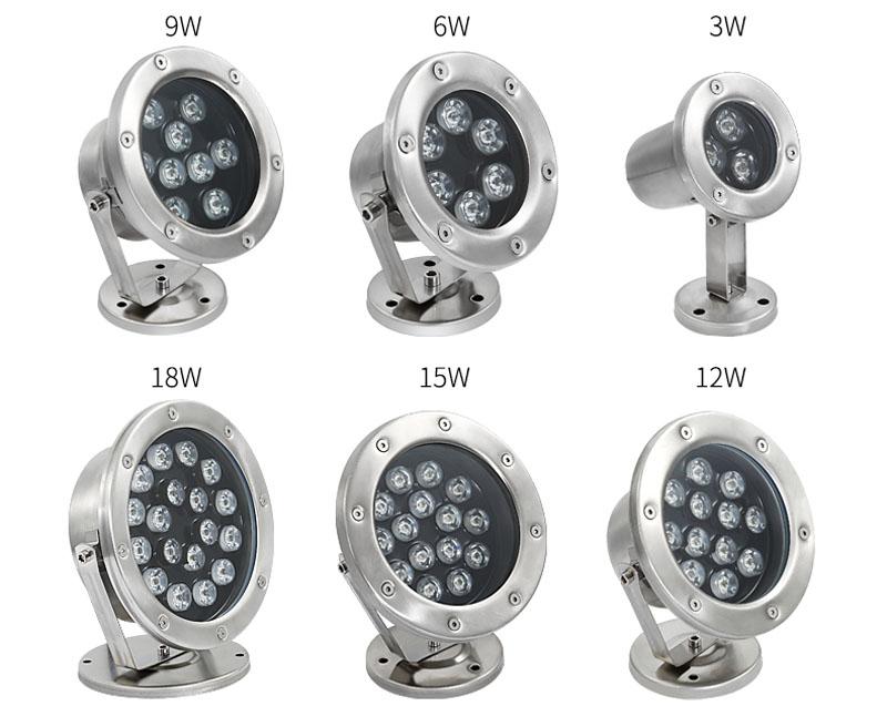 Đèn âm nước LED cao cấp hiện đại giá rẻ tại Hà Nội