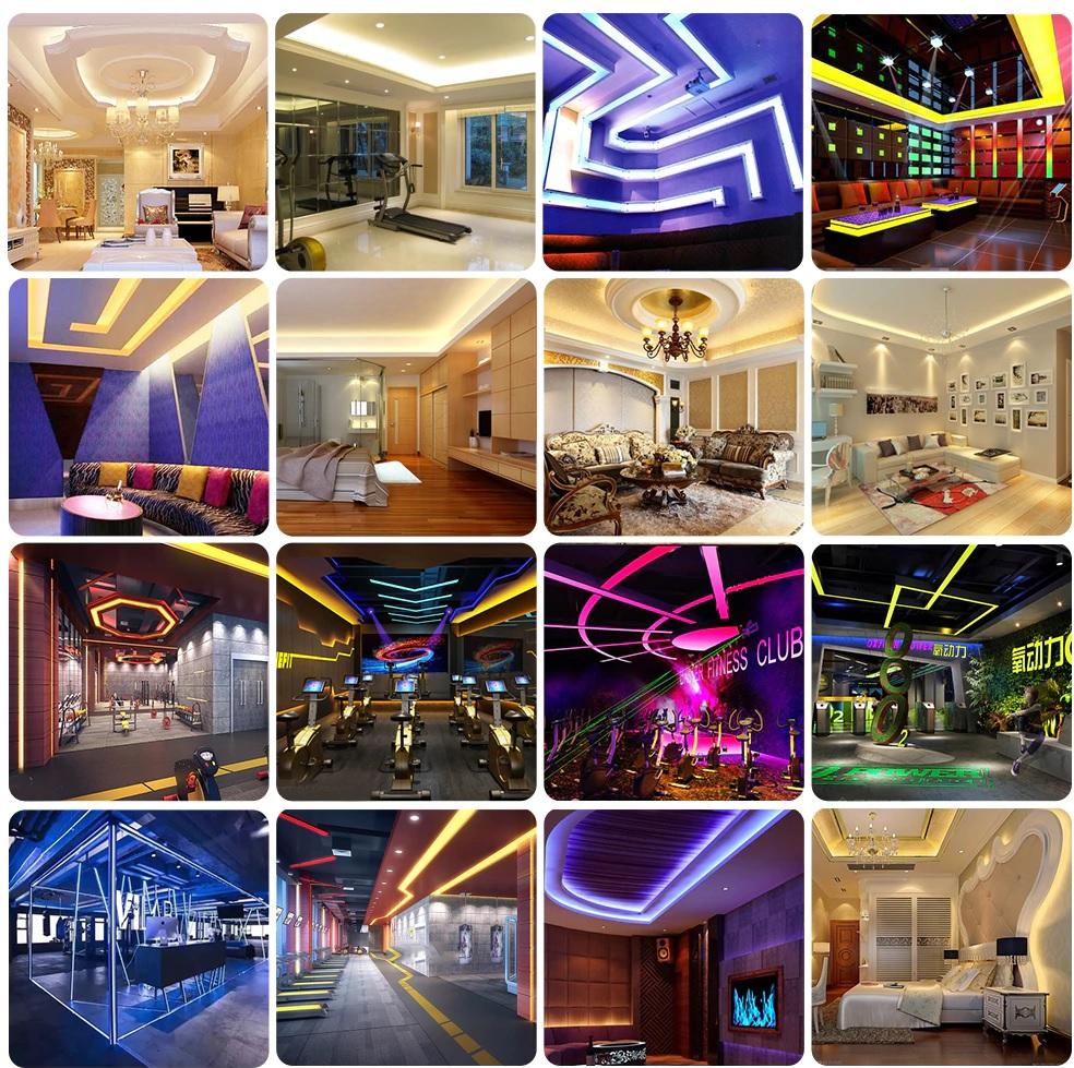 Đèn LED dây 12v cao cấp trang trí nội ngoại thất hiện đại