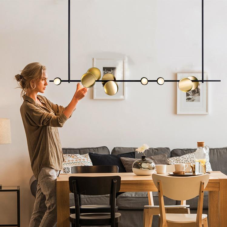 Đèn thả bàn ăn hiện đại LED phong cách Bắc Âu TL-BA-5G