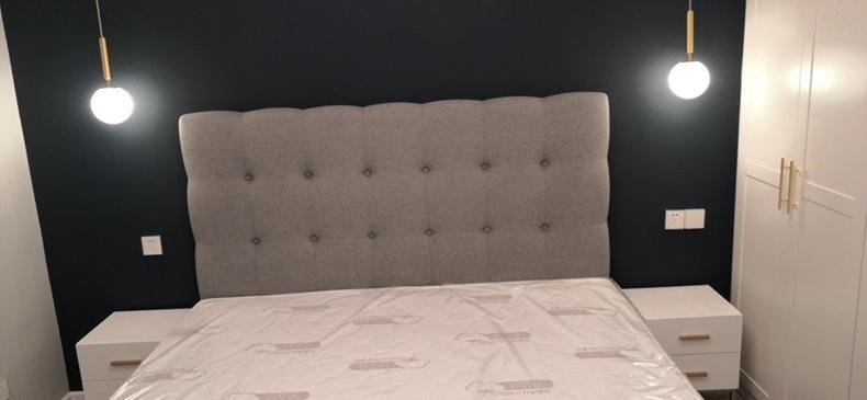 Đèn thả đầu giường hiện đại trang trí phòng ngủ mạ đồng cao cấp