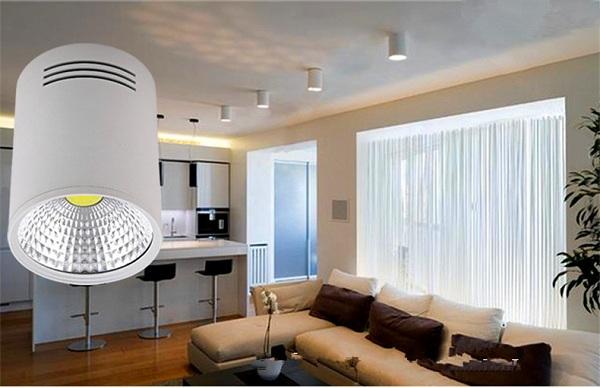Đèn ống bơ LED hiện đại ứng dụng chiếu sáng cao cấp
