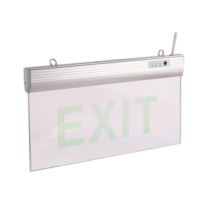 Đèn LED Exit chỉ dẫn 2 mặt rạng đông