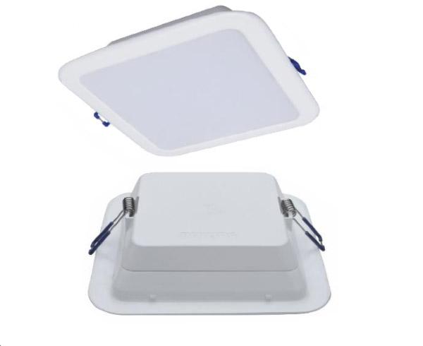 Đèn led âm trần downlight Philips Vuông DN027B LED6/ (7w) L125 SQ trắng, vàng , trung tính