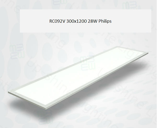 Đèn led panel 28W 300x1200 RC092V Philips