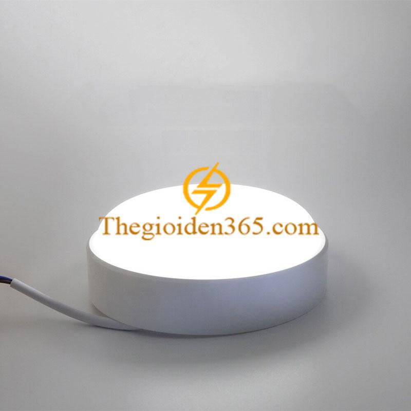 Đèn ốp trần chống ẩm tròn vỏ trắng White 15w TL-OCA-02