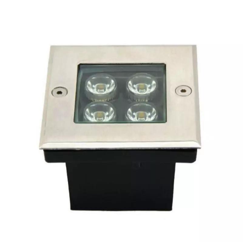 Đèn LED Âm Đất vuông GS Công Suất 4W GSDV4