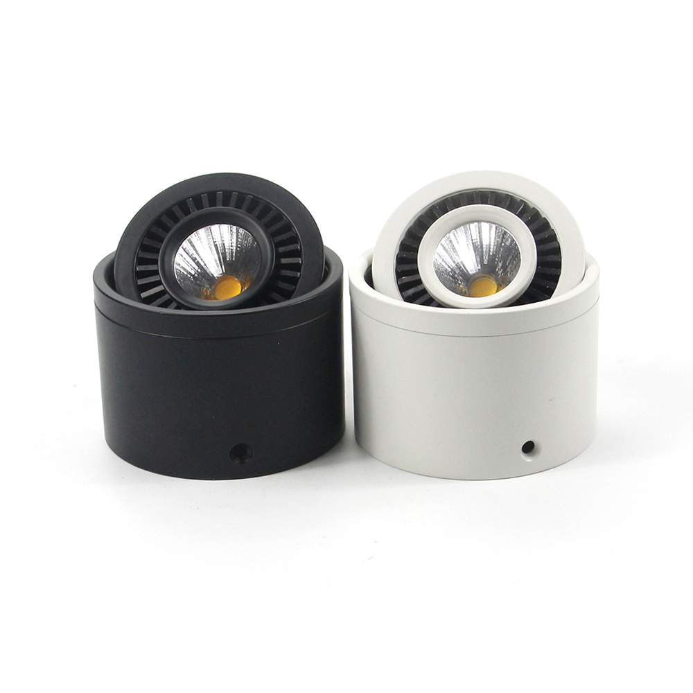 Đèn ống bơ led chip COB 7w điều chỉnh góc chiếu 360 độ TL-THB360-07