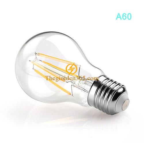 Bóng led bulb trang trí A60 Filament Edison E27 4w TL-Bulb04-A60