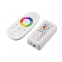 Bộ điều khiển cảm ứng không dây 2.4G RF LED dây 12v RGB/RGBW Full Color Touch screen