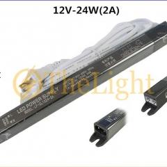 Bộ nguồn 12v 24w 2A có 4 cổng kết nối đèn LED cảm biến thanh nhôm cao cấp TL-PW006