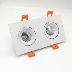 Đèn downlight đôi âm trần LED COB cao cấp 12wx2 TLV-ACOB-021