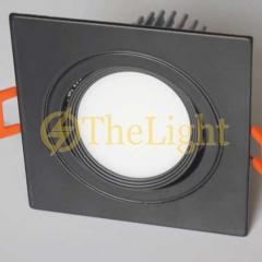 Đèn âm trần vuông LED downlight COB 12w D90 tán quang TLV-ACOB-01