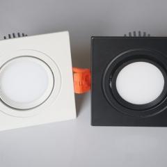 Đèn âm trần vuông LED downlight COB 7w D76 tán quang TLV-ACOB-01