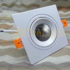 Đèn âm trần vuông downlight LED COB 12w cao cấp TLV-ACOB-011