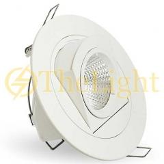 Đèn spotlight âm trần xoay góc 360 độ LED COB 12w D110 TL-A360-02