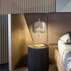 Đèn để bàn thủy tinh cao cấp trang trí phòng ngủ, phòng khách hiện đại TL-DN68