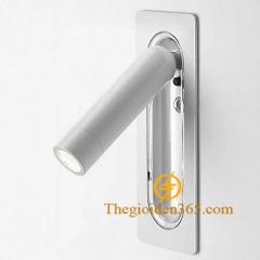 Đèn đọc sách gắn âm tường Led 3w vỏ trắng cao cấp TL-DSA-W01