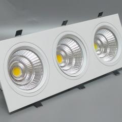 Đèn downlight 3 bóng âm trần LED COB cao cấp TL-A31-03