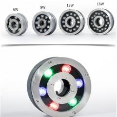 Đèn LED Âm Nước bánh xe đổi mầu 24v 6W IP68 cao cấp TL-UWBX06