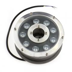 Đèn LED Âm Nước bánh xe đổi mầu 24v 9W IP68 cao cấp TL-UWBX09