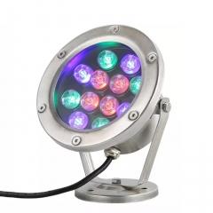 Đèn LED Âm Nước đổi mầu RGB 12v 12W IP68 cao cấp TL-UW12A
