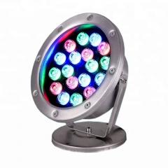 Đèn LED Âm Nước đổi mầu RGB 12v 18W IP68 cao cấp TL-UW18A