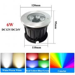 Đèn LED âm sàn 24v 6W IP68 chống nước cao cấp TL-ER2406