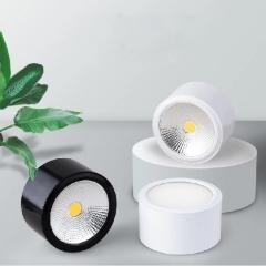 Đèn LED chiếu điểm gắn trần COB 7w D90xH50 cao cấp TL-MD01