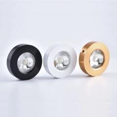 Đèn LED chiếu điểm ốp nổi mini 3w trang trí tủ rượu, tủ bếp, tủ quần áo, tủ trưng bày cao cấp TL-TUR01