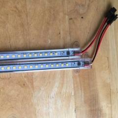 Đèn LED thanh 220v 60cm 8w chiếu hắt tủ kệ trang trí cao cấp TL-AC01