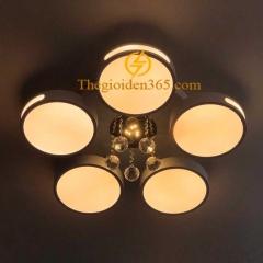 Đèn mâm ốp trần Led hiện đại 5 cánh tròn cao cấp TL-B4-05