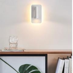 Đèn ngủ đọc sách gắn tường LED spotlight 3w xoay góc 330 độ Backlight 7w TL-DS-SB02