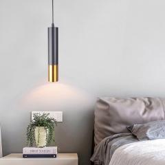Đèn thả ống bơ LED trang trí phòng ngủ TL-DG-01BG