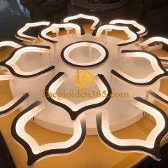 Đèn ốp trần LED hiện đại trang trí phòng khách cao cấp D930 TL-TT31-15