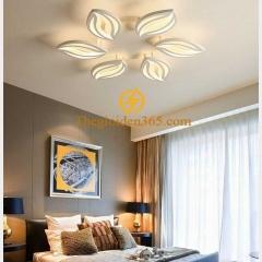Đèn ốp trần phòng ngủ hiện đại 5 cánh D600 TL-V33-05