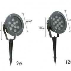 Đèn rọi cây LED 9w IP65 trang trí sân vườn ngoài trời TL-RC01
