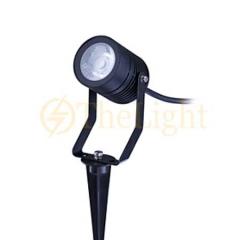 Đèn rọi cây LED Philips chiếu điểm spotlight sân vườn IP65 Ess SmartBright BGP150 LED250/NW 3W 45D GM
