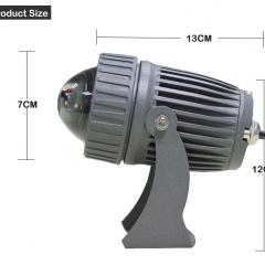 Đèn rọi cột đổi mầu RGB ngoài trời LED 10w IP65 cao cấp TL-RC01A