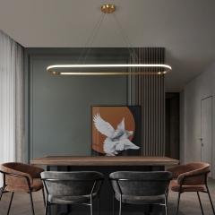 Đèn thả bàn ăn đơn giản LED cao cấp D800xW200mm TL-BA-061Y