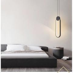 Đèn thả đầu giường LED 3 mầu trang trí phòng ngủ cao cấp TL-DG-01F2