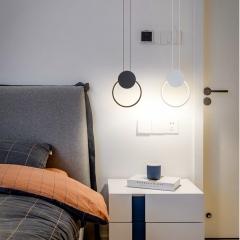 Đèn thả đầu giường LED 3 mầu trang trí phòng ngủ TL-DG-01F1