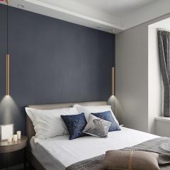 Đèn thả đầu giường LED ống bơ vàng Gold trang trí phòng ngủ TL-DG-01G