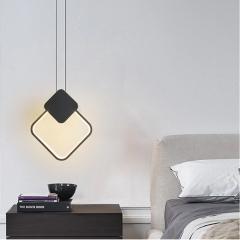 Đèn thả LED đầu giường Nordic hiện đại Bắc Âu trang trí phòng ngủ TL-DG-01F