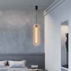 Đèn thả LED đầu giường Nordic hiện đại Bắc Âu trang trí phòng ngủ TL-DG-01E