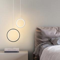 Đèn thả LED phòng ngủ Nordic hiện đại Bắc Âu TL-DG-01R