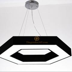 Đèn thả trần Led trang trí hiện đại hình lục giác D600 TL-DE-500